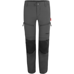 TROLLKIDS Nordfjord Zip Off Pants Kids anthracite